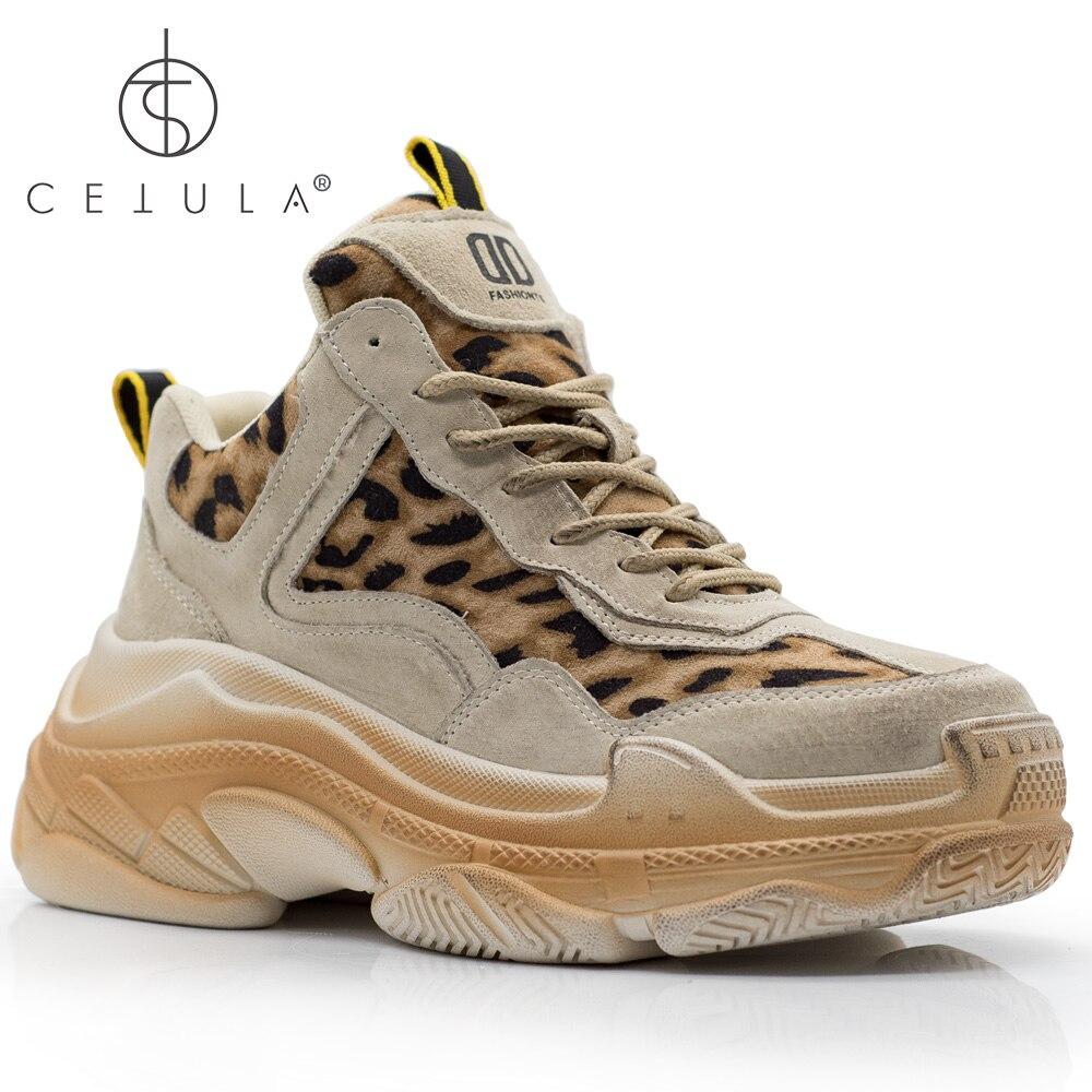 Suela Atheletic Puntos Encaje De Hechos Tinta Terminado Zapatos sand Cetula A Black Oversize Leopardo 2019 Mujer tira Cuero Pila Mano Pies fWqUS