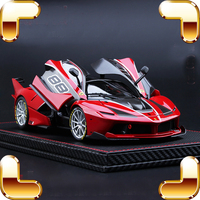 New Year Gift 1/18 Top Version FXXK Metal Model Car Alloy Static Decoration Toys Cars Metallic Luxury Big Car Fans Models Scale