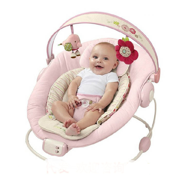 Free shipping Bright Starts Musical Rocking Chair Comfort