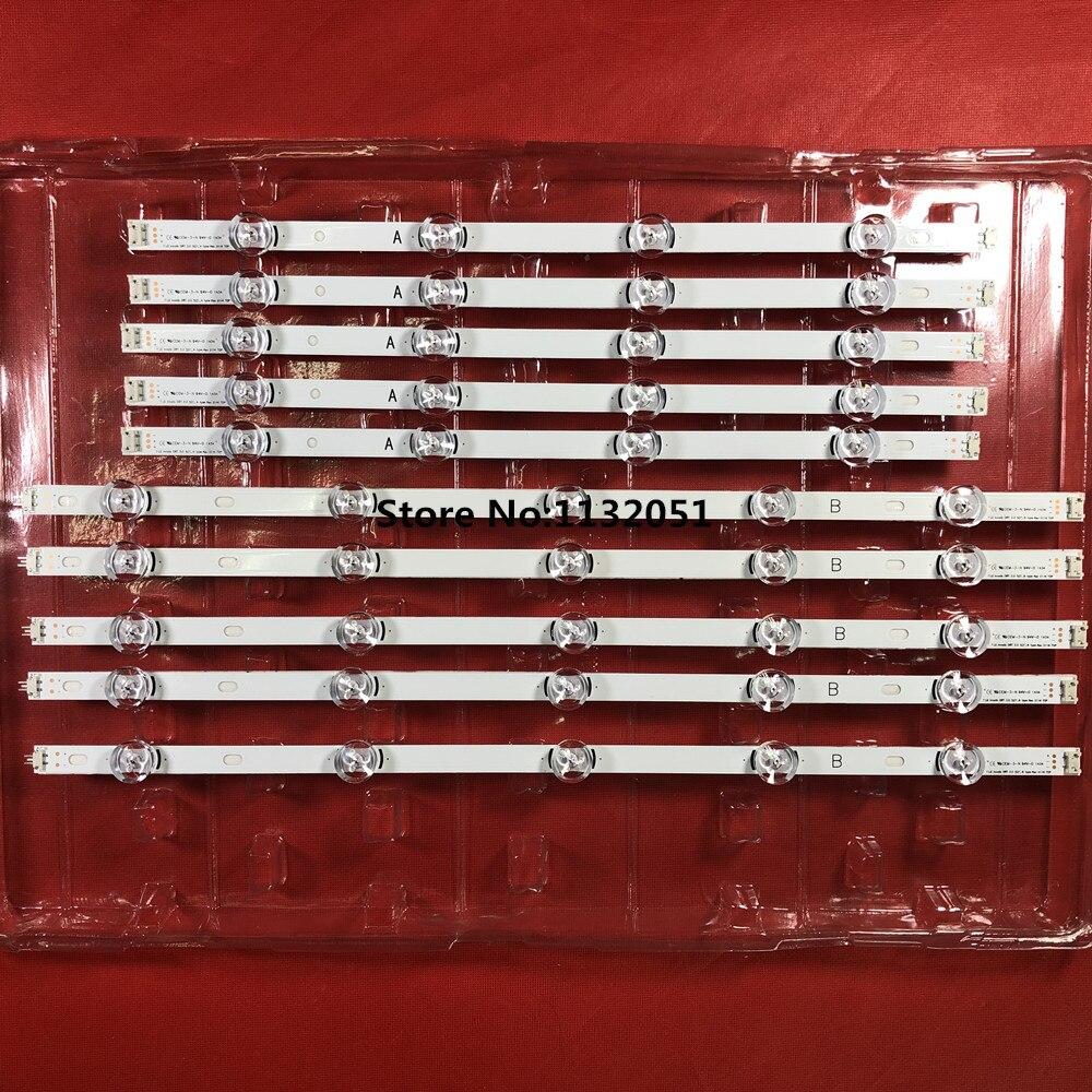 0riginal New 10 PCS/set LED Backlight Strip For 50LB6300 50LF6000 50LB650V INNOTEK DRT 3.0 50 Inch A B 6916L-1982A 6916L-1983A