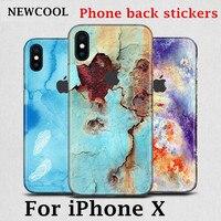 Dla iphoneX 6 6 s 7 7 p 8 8 p powrotem film pokrywa Ochronna naklejki Dla iphone X 7 plus telefon Kolor powrotem film Naklejka Dekoracyjne film