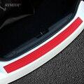 Placa de revestimiento del parachoques retaguardia maletero del coche modificado tira protectora para BMW E46 E53 E52 E90 F01 F10 F20 F30 F15