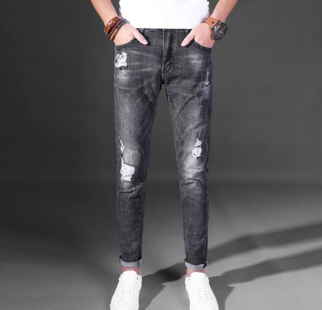 2018 Бесплатная доставка Причинно хорошее качество Для мужчин скидка джинсы на Лидер продаж