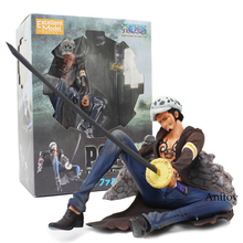 Anime One Piece P.O.P Trafalgar Law Excellent Model Limited PVC Figure Collectible Model Toy 10cm
