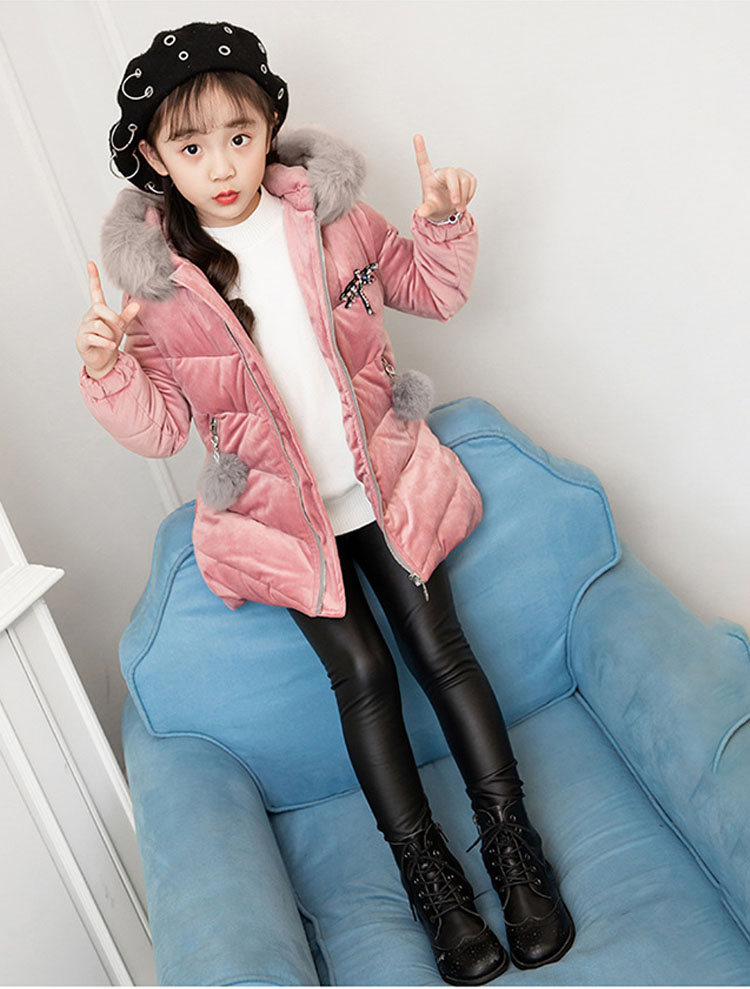 2019 nova jaqueta de inverno das crianças
