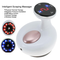 Vacuum Electric Guasha Scraping Body Massager Body Slimming Shaping Lymphatic Detox Machine Thermal Therapy Cupping Back Massage