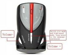 Для 16 Группа Детектор Радиолокатора Автомобиля Cobra XRS 9880 Lacer Анти Радар-Детектор Русский и Английский Язык для Вождения