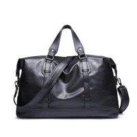 2016 NEW PU Leather Men Handbags Casual Business Laptop Shoulder Bags Briefcase Messenger Bag Waterproof Travel