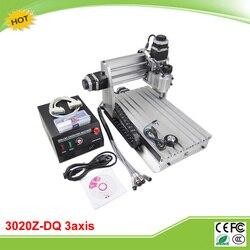 Mini CNC 3020Z DQ CNC maszyna do grawerowania ze śrubą z nakrętką kulową do automatycznego sprawdzania narzędzie w Frezarki do drewna od Narzędzia na