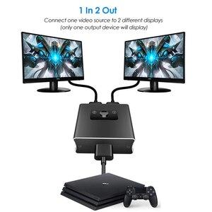 Image 4 - Conmutador bidireccional 2020 1x2 HDMI compatible con HDMI 2,0 HDCP 2,2 UHD 4K 2x1 HDMI Switch HUB Box para Apple TV, XBox,PS3, PS4 HDTV