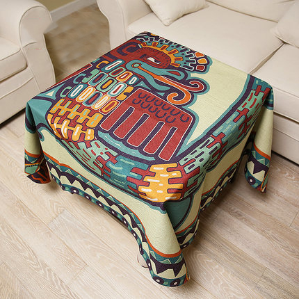 Tablecloth Rectangular Round Square Linens Linen Cotton Oilcloth drap Blanket Cloth placemats Table Covers para Mat DD0645