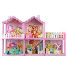 Doll House Large Furniture Miniatures DIY Doll Houses Miniature Doll Houses Wooden