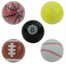Друга мячи гольфа лучший мяч игры двойной гольф спортивные подарок в