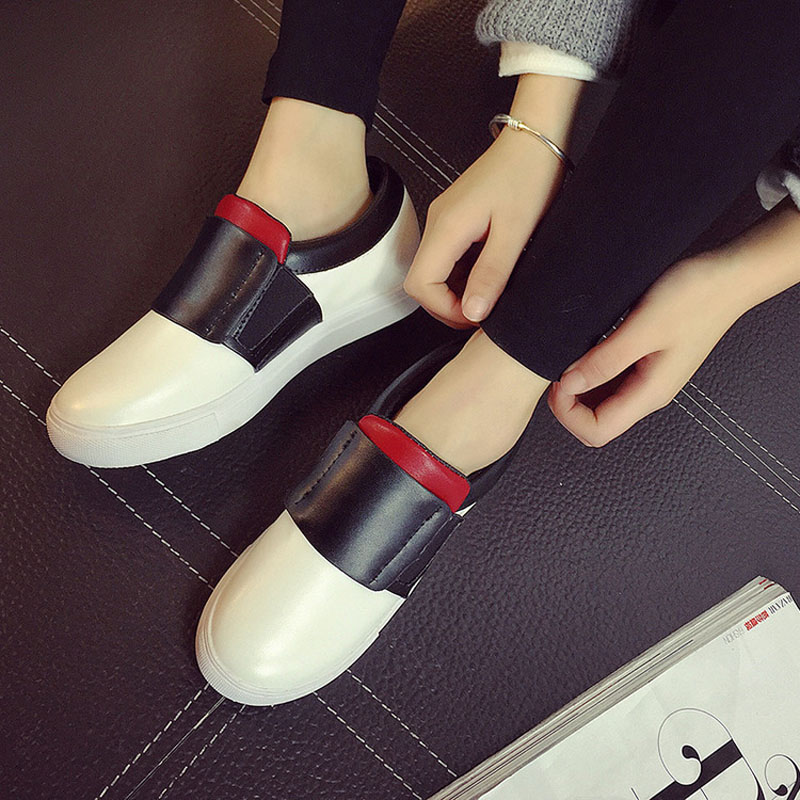 2016 New Spring Fall Fashion Flat Loafers Shoes Platform A Pedal Lazy font b Women b