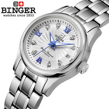New Switzerland design Hot selling Original Binger watches Made In Geneva mechanical watch for women wholesale Lady wristwatch
