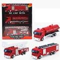 3 ШТ. Сплава Автомобиля Модели Грузовик Дети Toys Пожарная машина Двигателя для Ребенка На День Рождения Китай Подарок карро де brinquedo Toys For дети