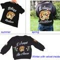 5pcs/lot Baby girls T shirts kids children clothing Tiger embroidery tops short sleeve boys tee shirts 2-7t sylvia 544561709405