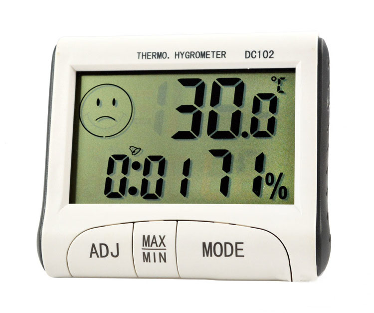 Mini Digital Thermometer Room Temperature Indoor Hygrometer Humidity Meter Alarm Clock HG99