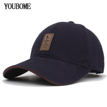 YOUBOME New Brand Snapback Caps Men Baseball Cap Women Hats For Men Trucker Plain Fitted Gorras Casquette Bone Flat Dad Male Cap(China)