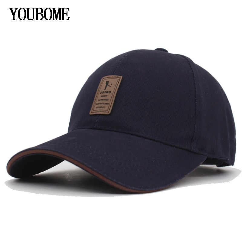 YOUBOME כובעי נשים כובע בייסבול Snapback כובעי גברים מותג חדש עבור נהג משאית גברים רגיל מצויד עצם Gorras Casquette כובע שטוח זכר אבא