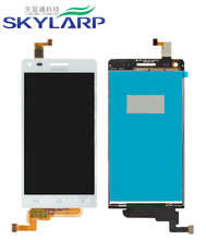 LCD Module With Digitizer Touch Screen Replacement for Huawei Ascend G6-U10 – White – Huawei Logo