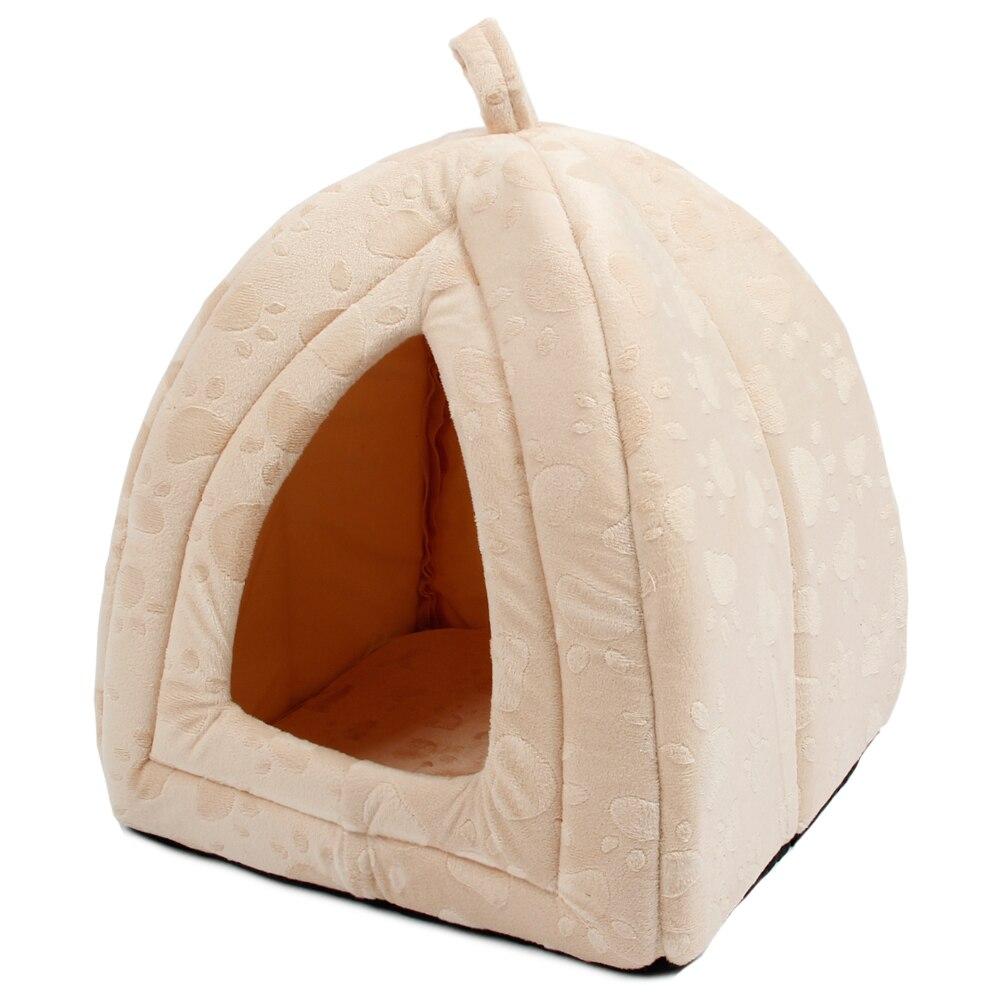 New Arrive Pet Kennel Super Soft FabricDog Bed Princess House Paw - Үй жануарлары өнімдері - фото 3