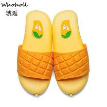 Whoholl New Arrivel Women Slippers Summer Beach Flip Flops Home Fashion Lovely Female Casual Slip on Fruit Woman Shoes