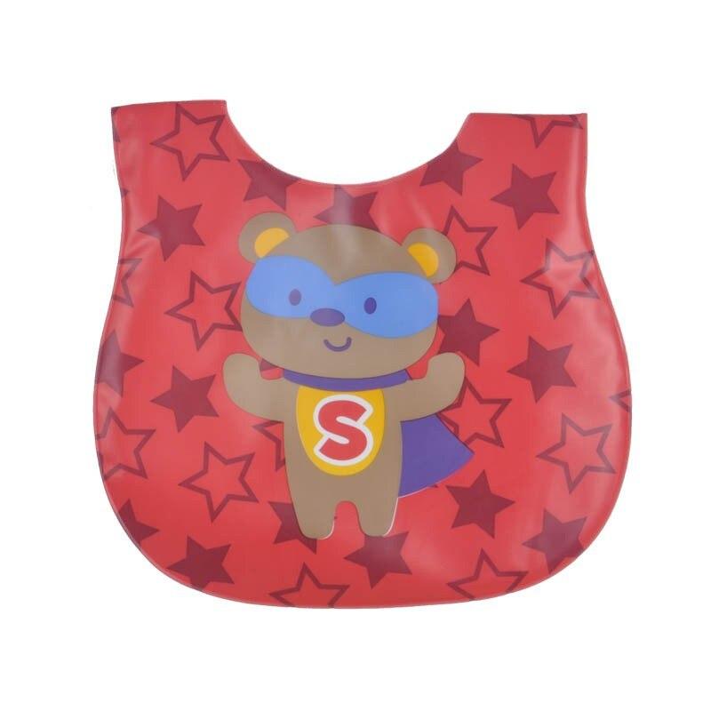 Infant Burp Clothes Towel Children Baby Supply Fabric Feeding Baby Bibs Cartoon EVA Waterproof Kids Bibs