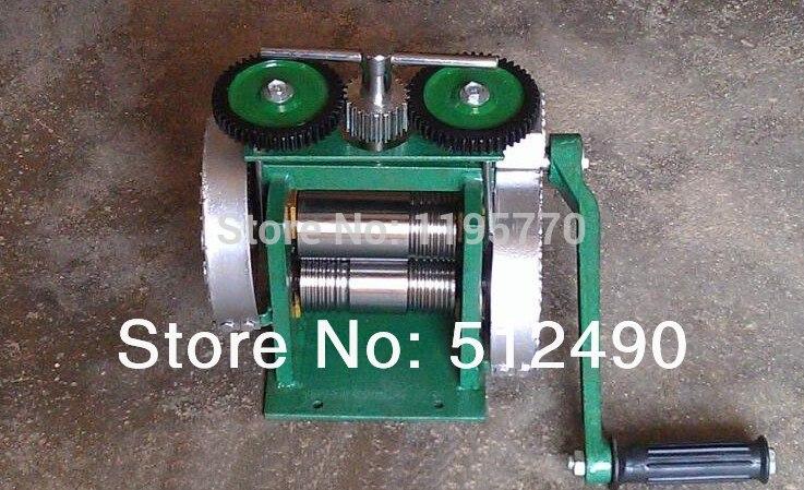 Goldsmith инструмент прокатный стан, ювелирные изделия провода прокатки машины