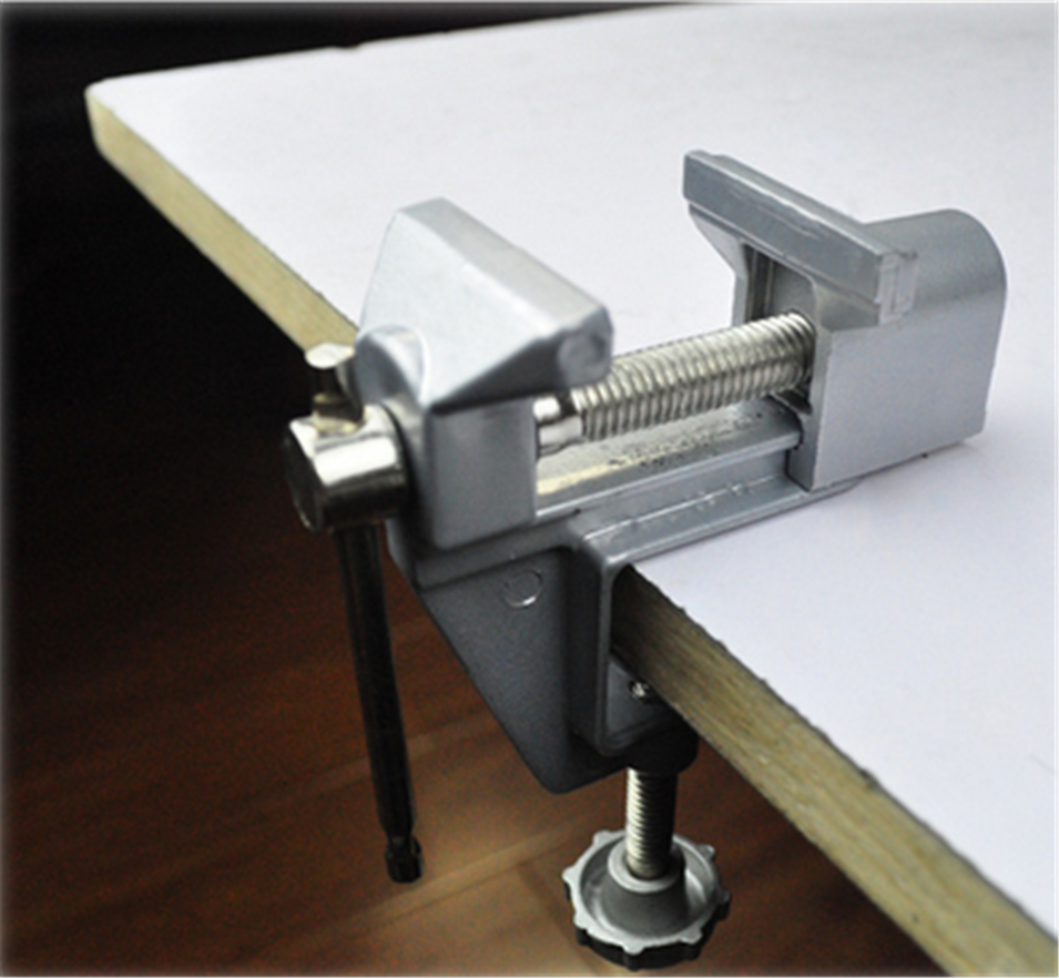 Small vise / mini vise / vise / table vise / miniature electric drill matching pliers