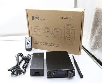 2019 FX-Audio Novo D802C PRO Bluetooth@4.2 Entrada de amplificador digital completo APTX USB / AUX / Óptico / Coaxial 24Bit / 192KHz 80W * 2 DC32V / 5A 1