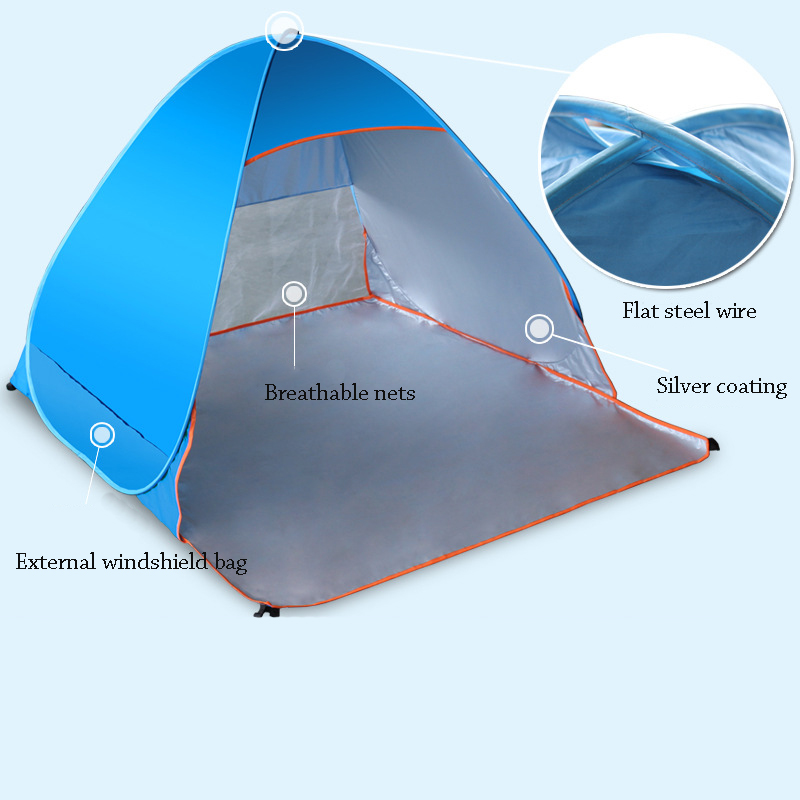 Hot Sale! Two Person Outdoor Camping Quickly Open Tent Kit ...