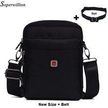 Soperwillton сумка croosbody для Для мужчин Водонепроницаемый sling bag Повседневное Оксфорд Для мужчин Путешествия Бизнес Crossbody bagfashion #1054(China)