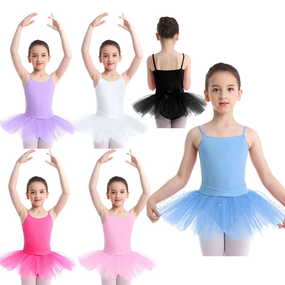 Dance Ballet Tutu Skirt with Underwear Women Girls Practice Costume Dancewear