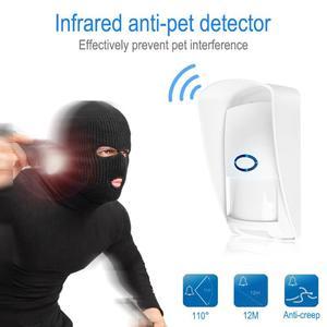 Image 3 - CT70/60 屋外防水ワイヤレスpirセンサー赤外線モーション検出器 433mhz免疫抗ペットのためのホームセキュリティ警報システム