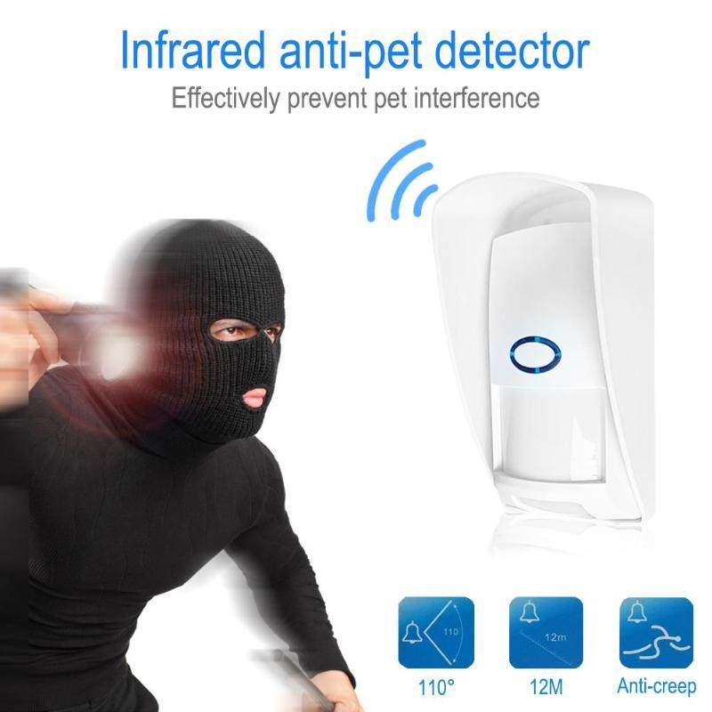 CT70 Im Freien Wasserdichte Drahtlose PIR sensor Infrarot Motion Detektor 433Mhz pet Immune Anti-Pet für Home Security Alarm system