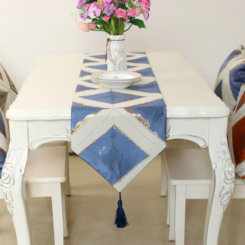 Modern Table Runner Chemin De Table Table Runners For Wedding Party Camino De Mesa Tafelloper Geometric Placemat  Home Textile