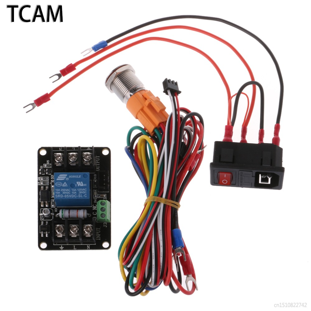 TCAM 3D Printer Power Monitoring Continued to Play Module Printing Automatically Put off Module for Lerdge Motherboard power play