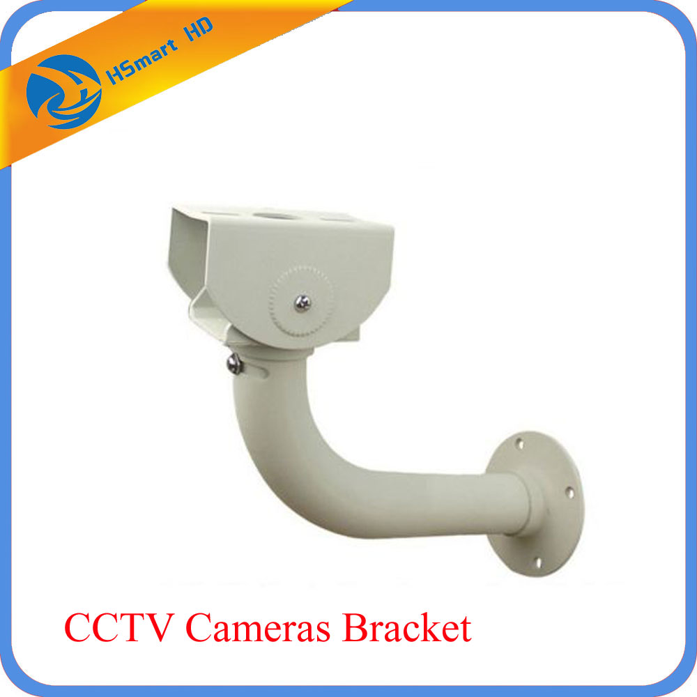 Metal Wall Mount Bracket Stand for CCTV Security Cameras Installation owlcat indoor bullet cctv camera guard wall mount plastic housing shield with bracket for video surveillance security cameras