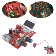Spot Welder Time Control Board 100A Updating Current Controller with Digital Display Tool