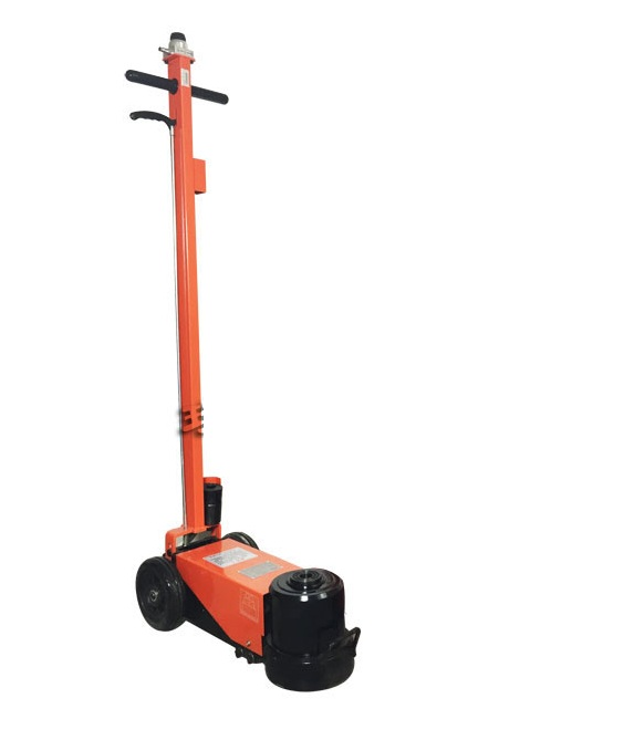 150Ton Air floor hydraulic jack for truck auto repairing tyre tire wheel lifting pneumatic jack stand supporting shock-absorbing