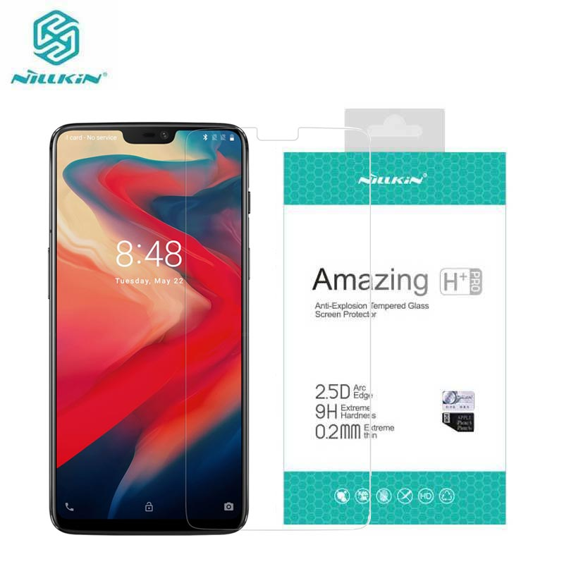 OnePlus 6 Tempered Glass OnePlus 6 Glass Nillkin Amazing H+Pro 0.2MM Screen Protector for Oneplus6
