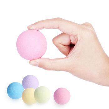 40g Handmade Bomb Baths Aromatherapy Relaxation Moisturizing Fizzies Spa Bomb Body Cleaner Bath Bomb Mold bubble Salt Ball