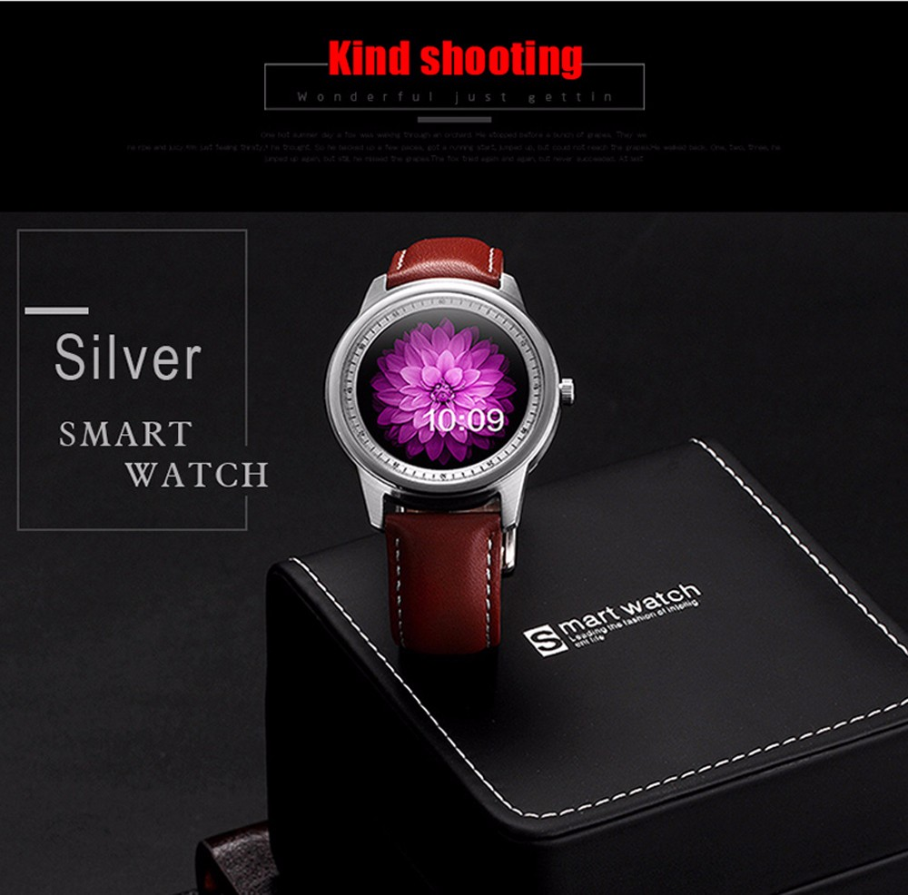 LEM1 smart watches DM365 DM360 Bluetooth IP67 waterproof Round font b smartwatch b font IOS Android