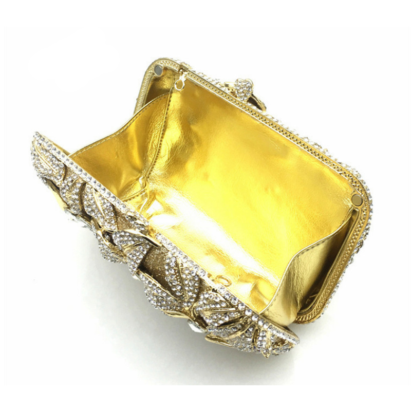 Fleur Européen Picture Parti A141 Bourse Perlé Luxe D'épaule Or Picture Sac Style D'embrayage Diamant Soirée as Cristal As Mariage De AxqSHnwdY