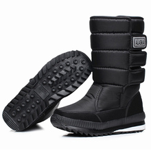 Men's thickening waterproof military winter boots shoes