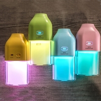 Rechargeable Air Humidifier Ultrasonic Car Air Freshner Mini USB Aroma Essential Oil Diffuser Mist Maker With