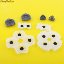 цена на 2 sets For Playstation 4 Dualshock JDS001 011 Silicon Rubber Conductive Pads For PS4 Controller Repair Parts JDS 030 JDM 040