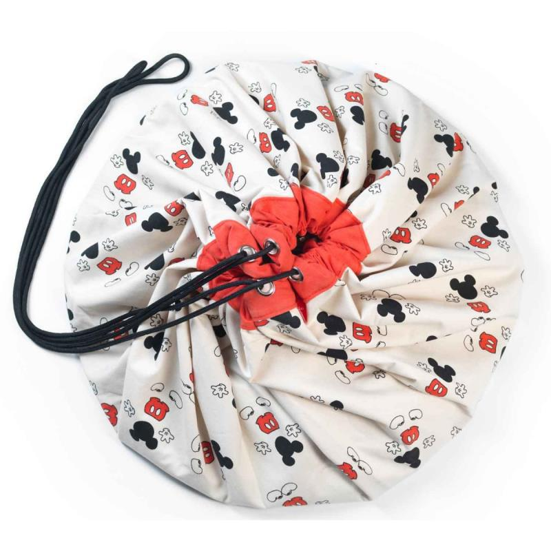 INS/Модная Детская сумка для хранения в виде мультяшных мышей и мышей из 3 стилей, плюшевые игрушки могут храниться как ковер - Цвет: red boy