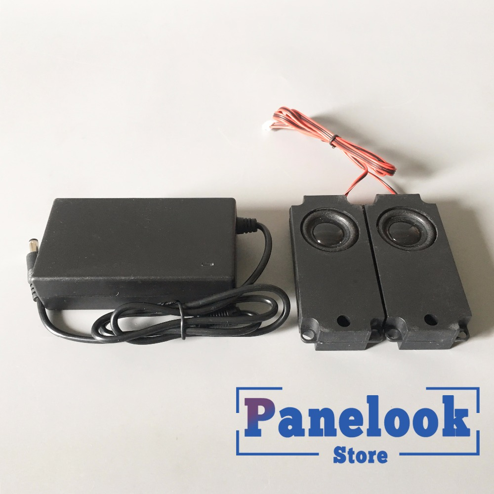 AC 90-260V To 12VDC 4A 48W Power Supply Adapter And  5W Speaker Accessories
